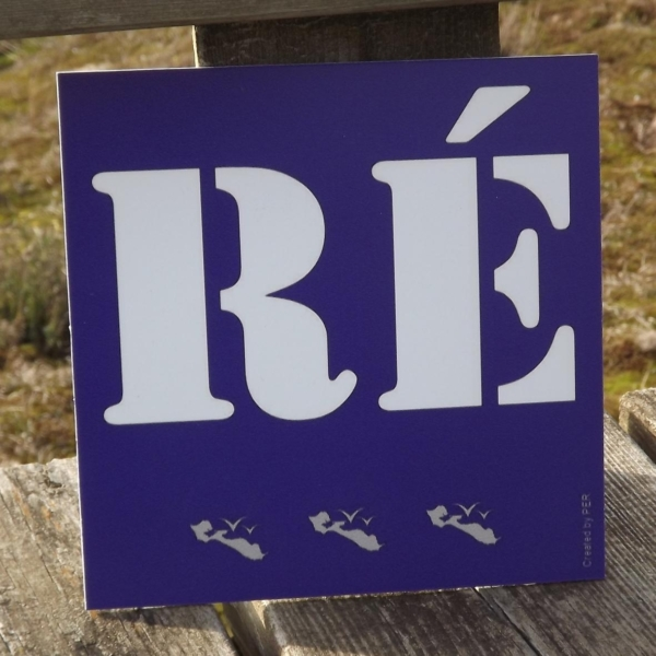 "Plaque Décorative ""Ré"" by PE®"